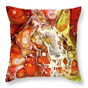 Mascarade Throw Pillow