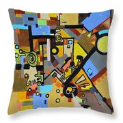 Masculine And Feminine Throw Pillow