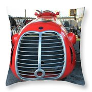 Maserati 1940's Style Throw Pillow