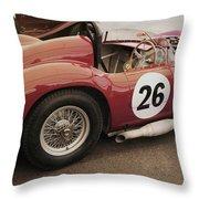 Maserati 450 S Throw Pillow