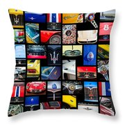 Maserati Art -01 Throw Pillow
