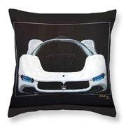 Maserati Birdcage 75th Concept Throw Pillow