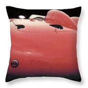 Maserati Butt Throw Pillow