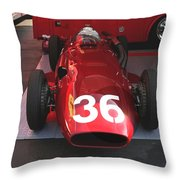 Maserati F-250 Si  Throw Pillow