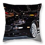 Maserati Gransport Throw Pillow