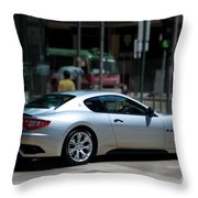 Maserati Granturismo S Throw Pillow