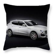 Maserati Levante Throw Pillow