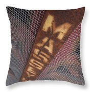 Masey Harris Throw Pillow