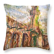 Masjed II Throw Pillow