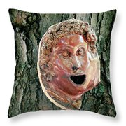 Mask Attached To Trunk 2 Throw Pillow