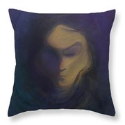 Masked Throw Pillow