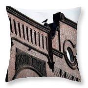 Masonic Gothic Throw Pillow