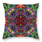 Masqparade Tapestry 7d Throw Pillow