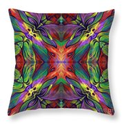 Masqparade Tapestry 7f Throw Pillow