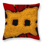 Masquerade 2 Throw Pillow