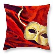 Masquerade 2 Throw Pillow