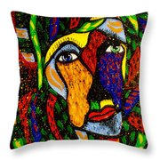 Masquerade Throw Pillow