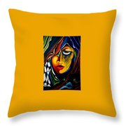 Masquerade - Scar Series 2  Throw Pillow