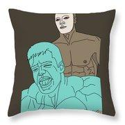 Masquerade Throw Pillow