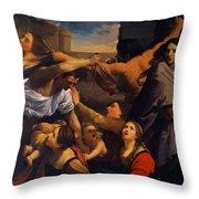 Massacre Of The Innocents 1611 Throw Pillow