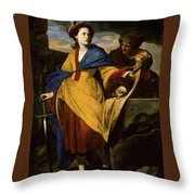 Massimo Stanzione Throw Pillow