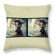 Massive Dragon - Gently Cross Your Eyes And Focus On The Middle Image Throw Pillow