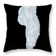 Massive Icicle Throw Pillow