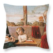 Master Of Astorga Throw Pillow
