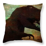 Master Of His Domain Throw Pillow