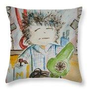 Master Stylist Throw Pillow