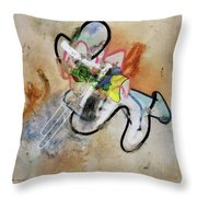 Masterbation Throw Pillow