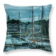 Masts Hysteria Throw Pillow