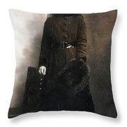 Mata Hari (1876-1917) Throw Pillow