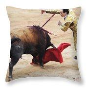Matador El Cid II Throw Pillow