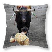 Matador Jose Maria Manzanares II Throw Pillow