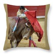 Matador Jose Maria Manzanares Iv Throw Pillow
