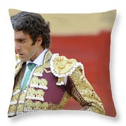 Matador Jose Tomas IIi Throw Pillow