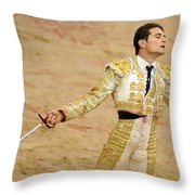 Matador Joselillo II Throw Pillow