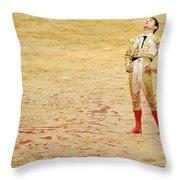 Matador Joselillo Throw Pillow