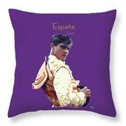 Spanish Matador Throw Pillow