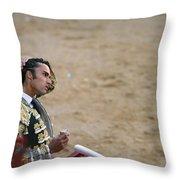 Matador Matias Tejela II Throw Pillow