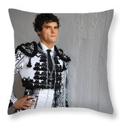 Matador Miguel Abellan IIi Throw Pillow