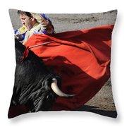 Matador Padilla II Throw Pillow