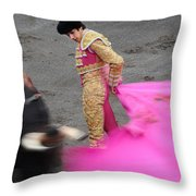 Matador Sebastian Castella Throw Pillow