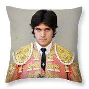 Matador Sebastian Castella V Throw Pillow