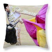 Matador Serafin Martin II Throw Pillow