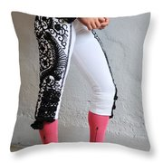 Matador's Legs Throw Pillow