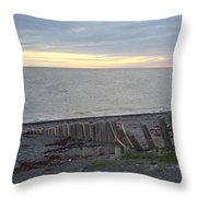 Matane In The Morning... Throw Pillow