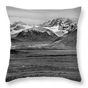 Matanuska-sustina Pano Throw Pillow
