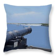 Matanzas Inlet Throw Pillow